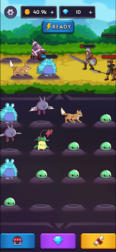 Monsters VS Hunters: Merge Idle RPG Battler  screenshots 6