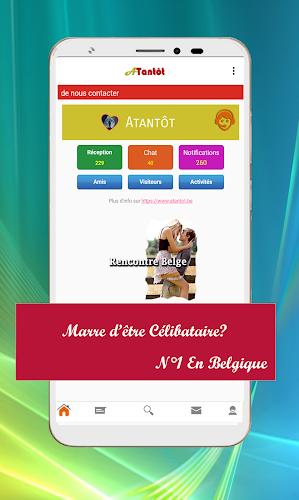 application rencontre gratuite belgique)