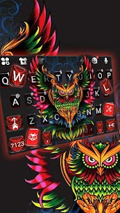 Devil Owl Keyboard Theme 2