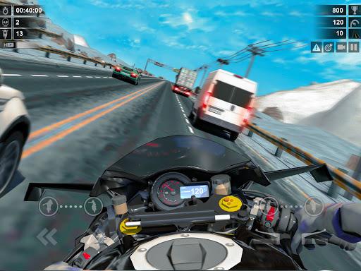 Traffic Racer: Dirt Bike Games apkdebit screenshots 11
