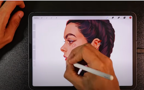 Paint Pocket App For Artists Drawing Free Advices. 4
