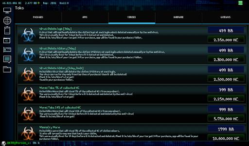 Hackers Online (MMO Simulator)  Screenshots 16