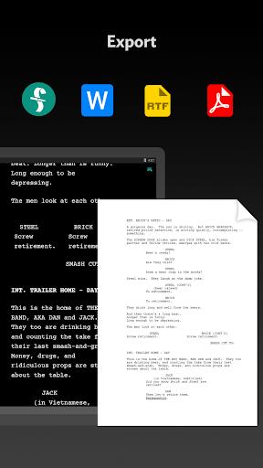 JotterPad - Writer, Screenplay, Novel 12.11.0D-pi Screenshots 7