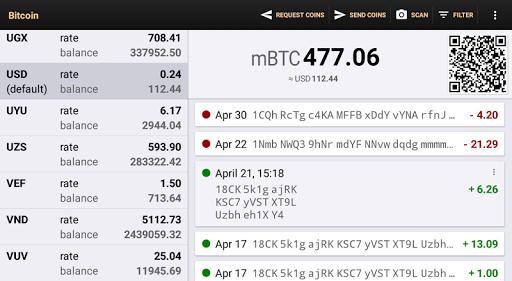Bitcoin Wallet apktram screenshots 9