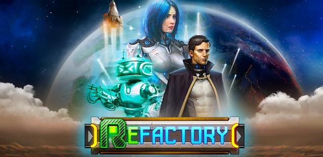 Скриншот №1 к ReFactory. Постройте автоматизированную фабрику!