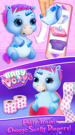 Baby Pony Sisters - Virtual Pet Care & Horse Nanny 5.0.14007 screenshots 4