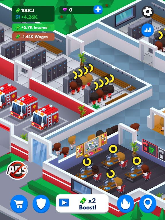 Idle Firefighter Tycoon - Fire Emergency Manager  poster 23
