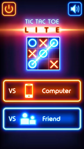 Tic Tac Toe glow - Free Puzzle Game 3.1 screenshots 1
