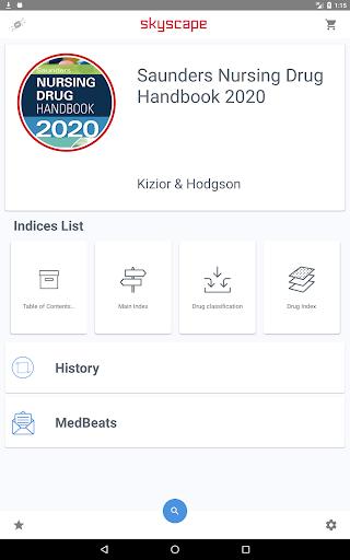 Saunders Nursing Drug Handbook 2021  Screenshots 8