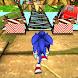 Super Blue Hedgehog Dash - Jungle Adventure