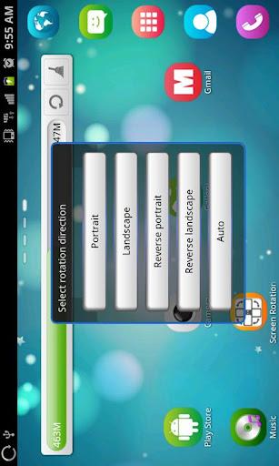 Screen Rotation Control  Screenshots 4