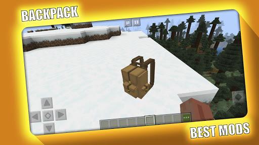 BackPack Mod for Minecraft PE - MCPE  Screenshots 1