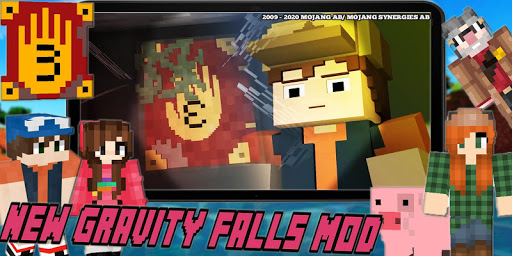 New Mystery Gravity Falls Town Mod For MCPE Craft goodtube screenshots 4