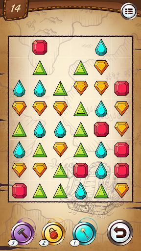 Jewels and gems - match jewels puzzle 1.3.0 screenshots 2