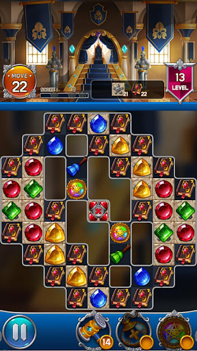 Jewel Royal Castle: Match3 puzzle 1.9.0 screenshots 6