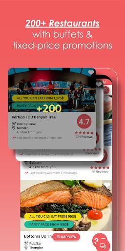 Hungry Hub - Thailand Dining Offer App 5.3.6 screenshots 2