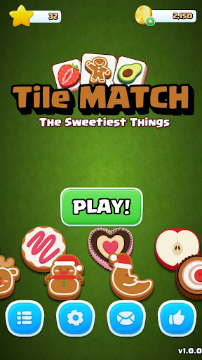 Tile Match Sweet - Classic Triple Matching Puzzle  screenshots 17