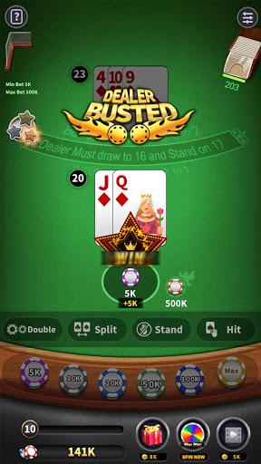 BlackJack 21 - blackjack free offline games 1.5.2 screenshots 2