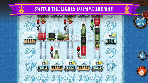 Rail Maze 2 : Train puzzler screenshots 4
