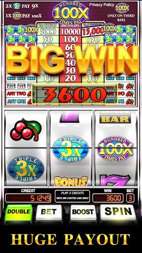 Slot Machine: Triple Hundred Times Pay Free Slot  screenshots 3