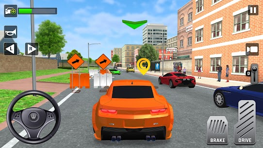 City Taxi Driving: Fun 3D Car Driver Simulator 5
