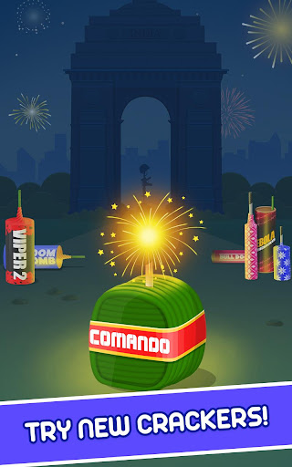 Diwali Firecrackers Simulator- Diwali Games  screenshots 14