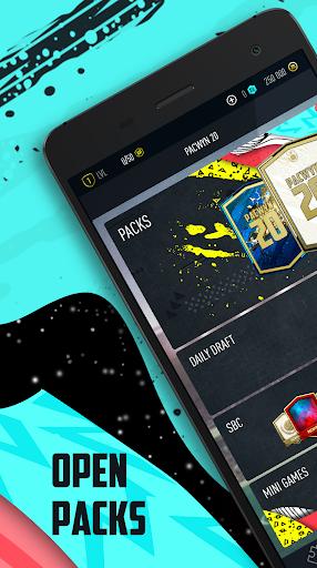 Pacwyn 20 - Football Draft and Pack Opener 2.0.0 Screenshots 1