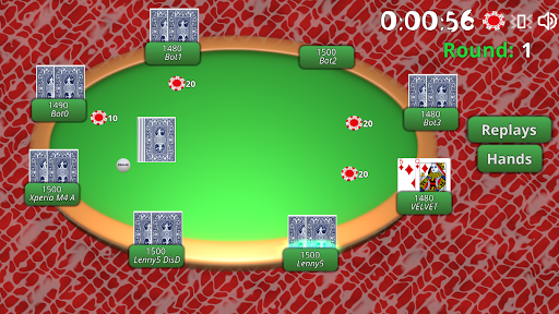 BlueTooth Poker 8 - Texas Holdem Game android2mod screenshots 4