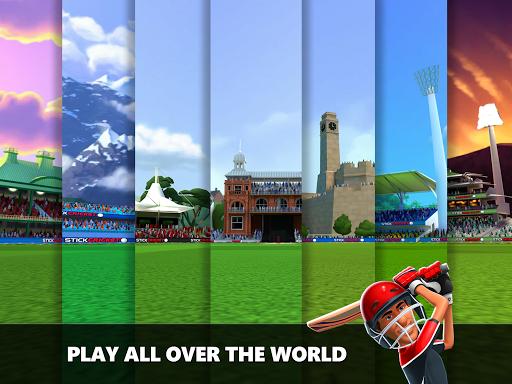 Stick Cricket Live 21 - Play 1v1 Cricket Games Apkfinish screenshots 14