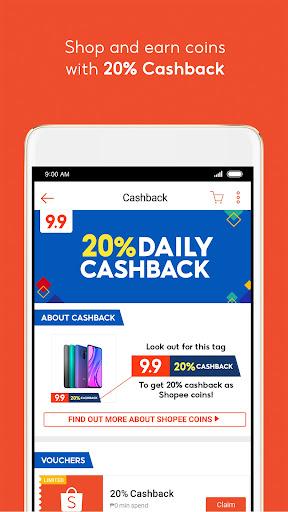 Shopee PH: 9.9 Shopping Day android2mod screenshots 4
