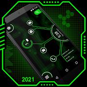 Curve Hitech launcher - App lock, Hitech Wallpaper