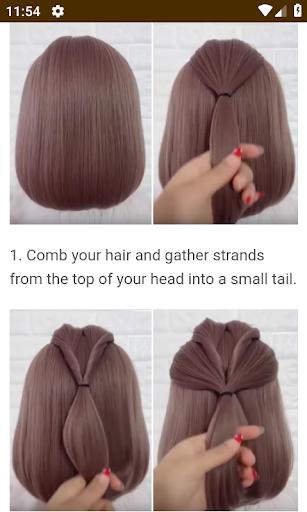 Hairstyles for short hair  Screenshots 5