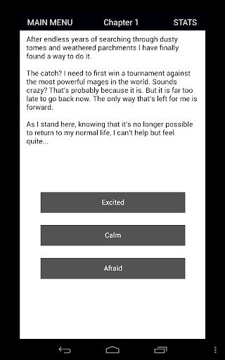 Magium - D&D Inspired Text Adventure RPG (CYOA) 2.06 screenshots 7