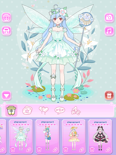 Vlinder Princess - Dress Up Games, Avatar Fairy 1.3.3 screenshots 21