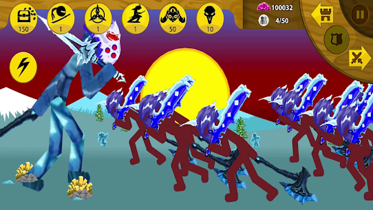 Stickman War 2 Mod Apk 1.0.0 (A Lot of Diamonds) 8