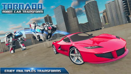 Tornado Robot Car Transform: Hurricane Robot Games 1.0.5 Screenshots 11