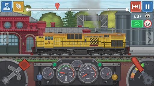 Train Simulator - 2D Railroad Game  Pc-softi 5