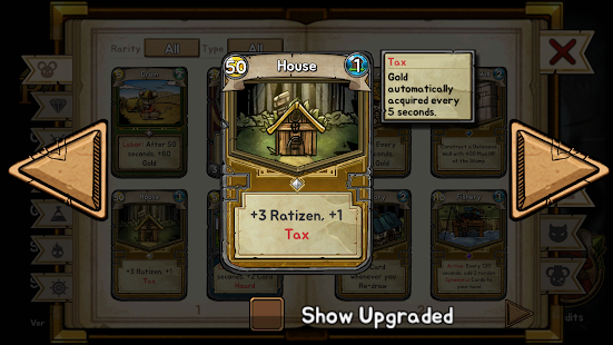 Ratropolis : CARD DEFENSE GAME screenshots 24