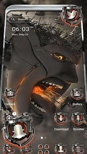 Robot 3D War Launcher Theme 1