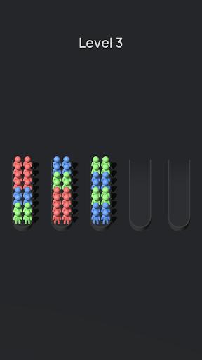 Crowd Sort - Color Sort & Fill  screenshots 21