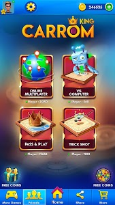 Carrom King™ - Best Online Carrom Board Pool Game 3.5.0.90