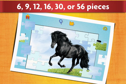Horse Jigsaw Puzzles Game - For Kids & Adults ud83dudc34 android2mod screenshots 3