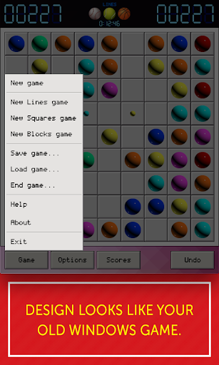 lines 98 - lines, squares, blocks screenshot 3