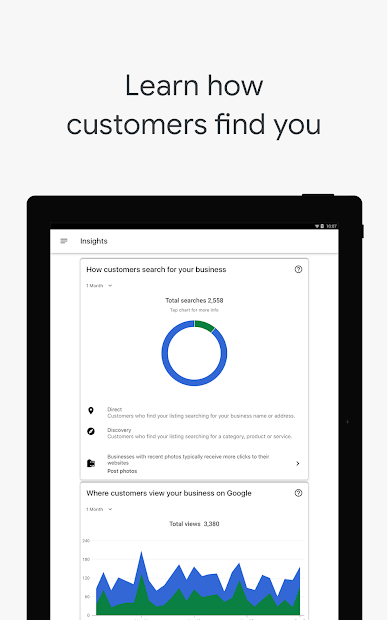 Google My Business - Connect with your Customers screenshot 14