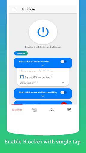 Blocker - Apps, Website and Porn Blocker.  screenshots 1