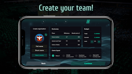 Esports Manager Simulator apk 1.0.58 screenshots 2