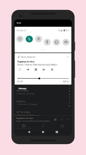 Music Player GO screenshot 8
