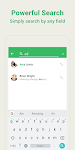 screenshot of Dialer, Phone, Call Block & Contacts by Simpler