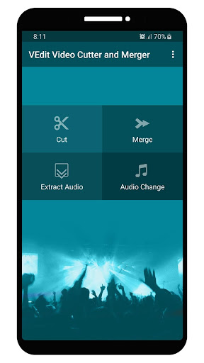 VEdit Video Cutter and Merger android2mod screenshots 1