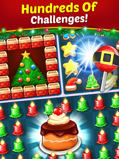 Christmas Cookie - Santa Claus's Match 3 Adventure 3.1.6 screenshots 19